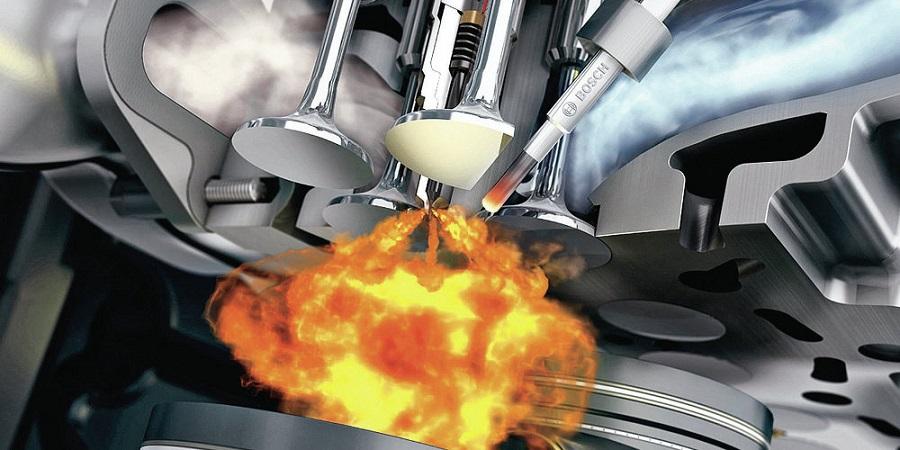 Образование смеси в бензиновых двигателях