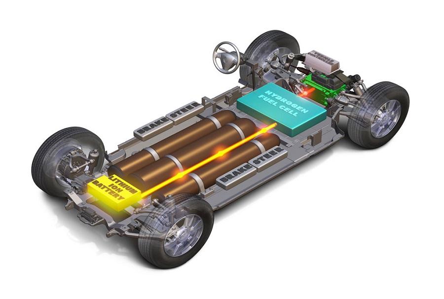 Топливные элементы для привода автомобилей