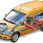 Работа двигателя на сжиженном нефтяном газе