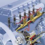 Система подачи топлива дизельного двигателя