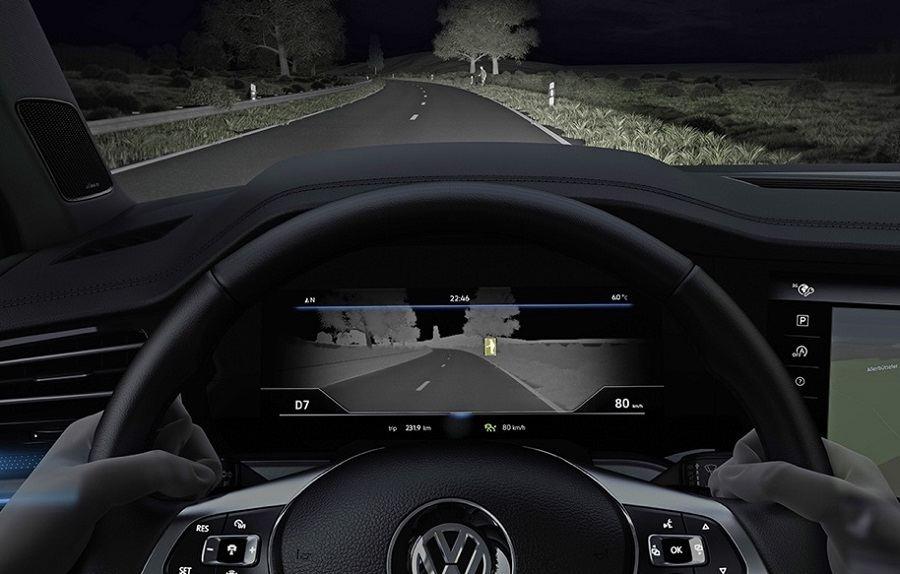 Системы ночного видения в автомобиле
