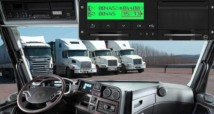 Регистрирующая аппаратура в автомобиле