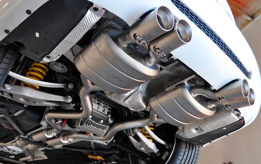 Система выпуска отработавших газов автомобиля