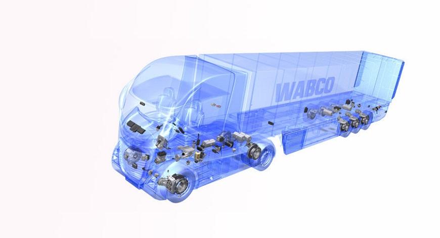 Тормозная система грузовых автомобилей с электронным управлением