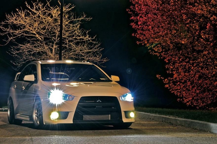 Освещение в автомобиле