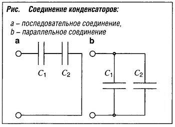 """""""Соединение конденсаторов"""""""