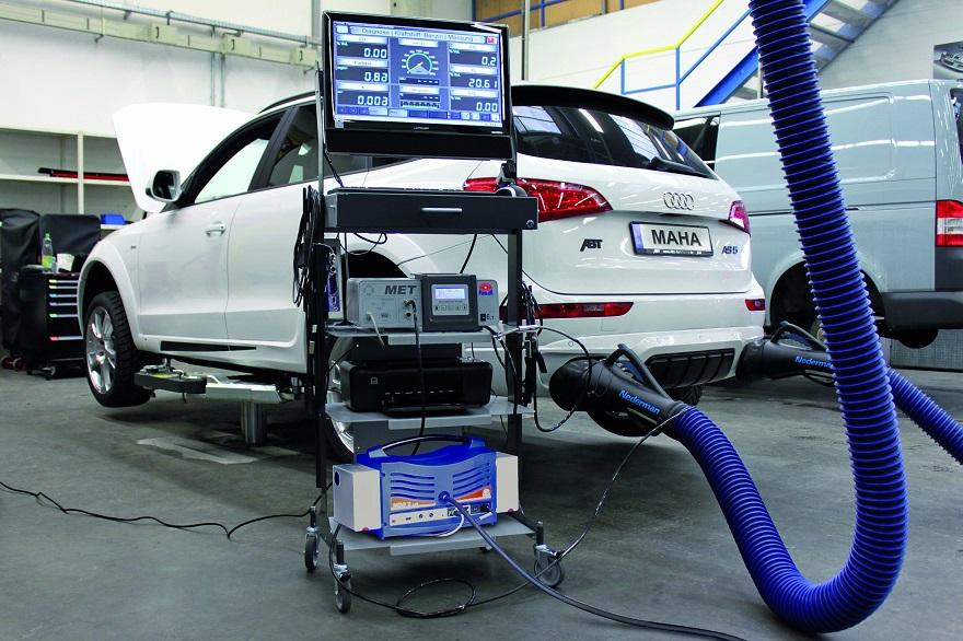 Аппаратура для измерения концентрации токсичных веществ в отработавших газах