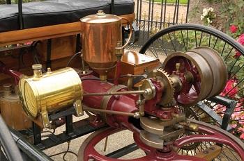 Первые двигатели Бенца были двухтактными