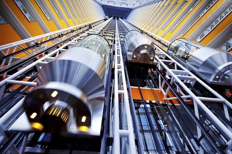 Лифты зданий