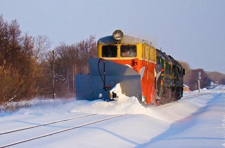 Поезд-снегоочиститель