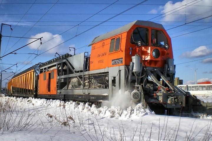 Поезд-снегоуборщик