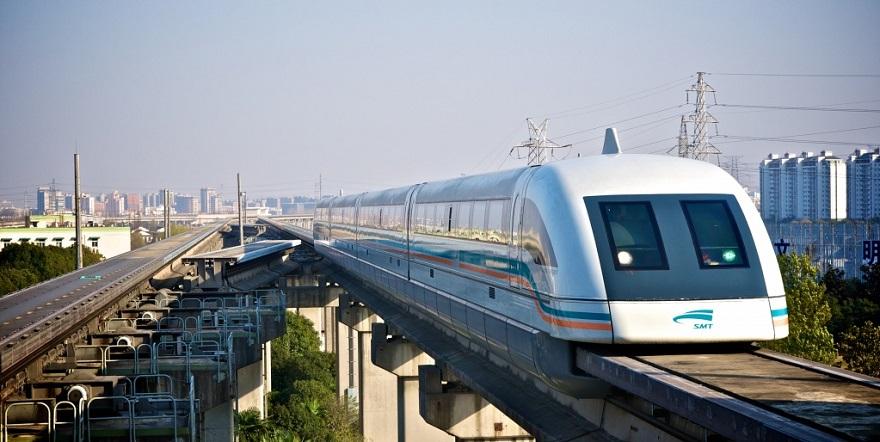 Скоростной монорельсовый поезд