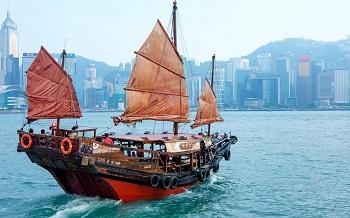 парусные суда в китае