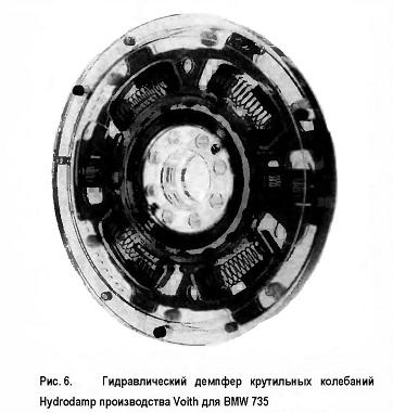 Гидравлический демпфер крутильных колебаний Hydrodamp производства Voith для BMW 735