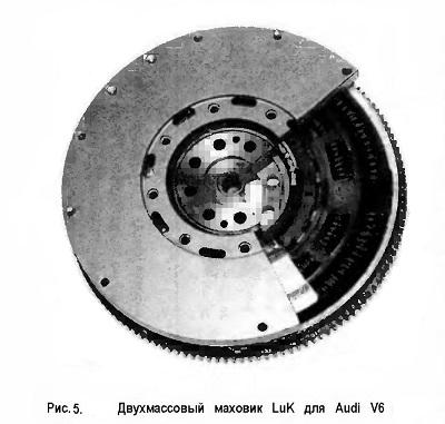 Двухмассовый маховик LuK для Audi V6