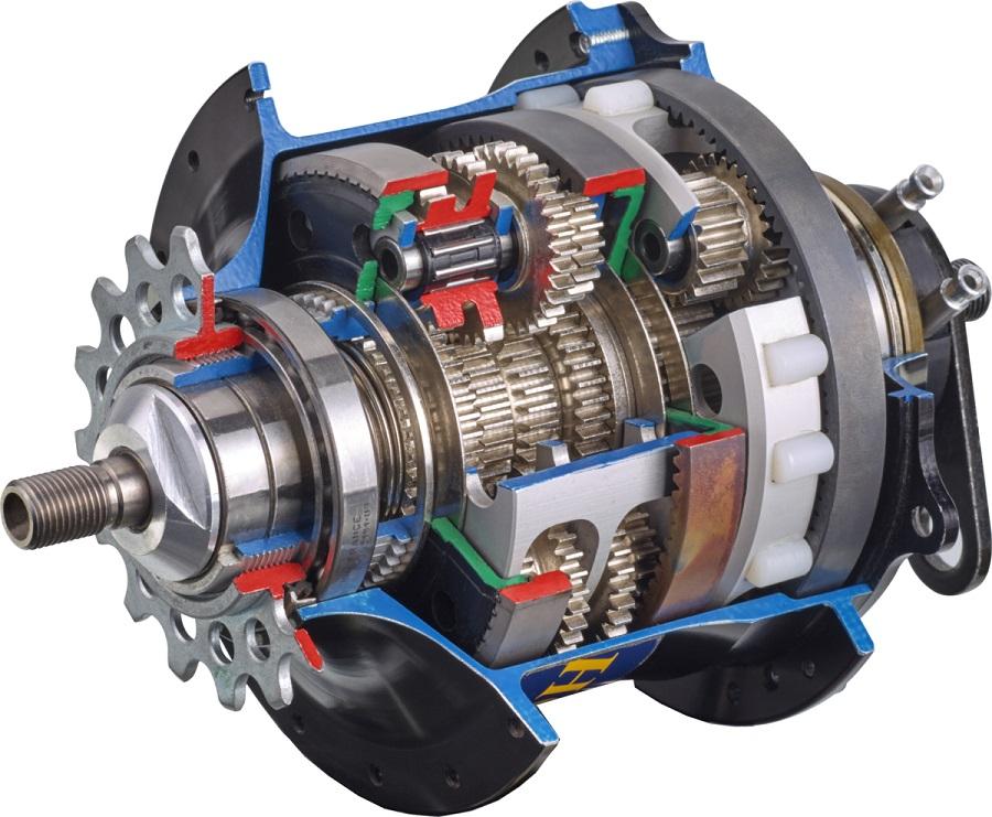 Планетарная передача автоматической коробки передач