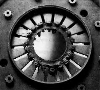 Притирание подпятника рычагов смещения нажимного диска