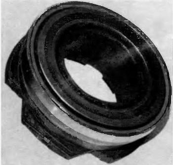 Износ упорного кольца выжимного подшипника